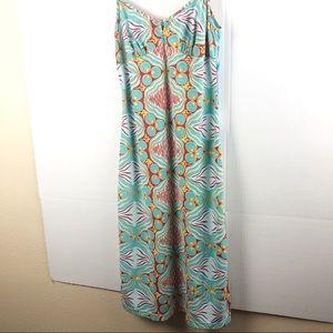 BCBG FOR NORDSTROM blue pink dress Small
